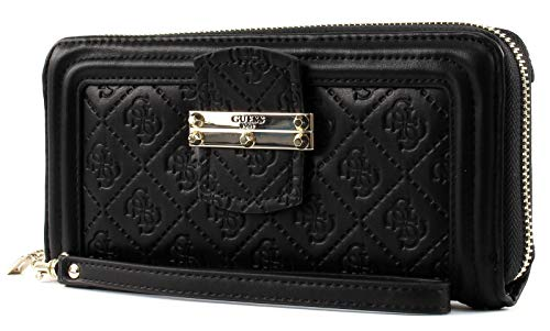 Guess - Portemonnaie LORIEN SLG Large Zip Around black, SG678746-BLA