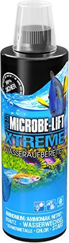 MICROBE-LIFT Xtreme - Wasseraufbereiter für fischgerechtes Aquariumwasser, neutralisiert fischschädliche Stoffe im Leitungswasser, 473ml
