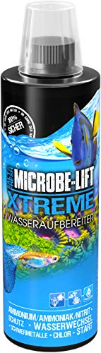 MICROBE-LIFT Xtreme – water conditioner for fish-friendly aquarium water, neutralises substances...