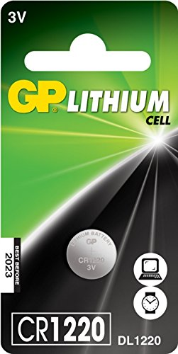 GP cellule au lithium C1 CR1220