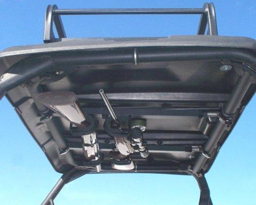 Quick-Draw Overhead Gun Rack - UTV's with 23'-28' rollbar depth  (QD850-OGR)