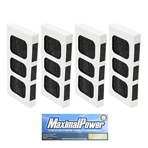 MaximalPower Lot de 4 filtres à air de rechange pour réfrigérateur Frigidaire et Electrolux