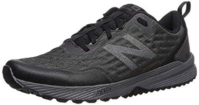New Balance Men's Nitrel V3 Trail Running Shoe, Black/Magnet, 10.5 M US