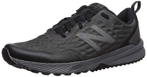 New Balance Men's Nitrel V3 Trail Running Shoe, Black/Magnet, 11 M US