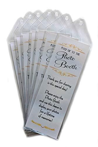 Premium Photo Booth Bookmark