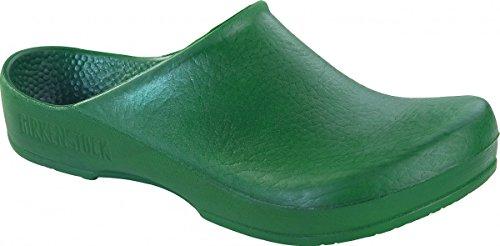 BIRKIS Klassik Birki Damen Clogs Antistatik Alpro-Schaum, Green, Größe 45 mit normalem Fußbett