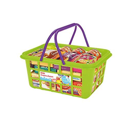 Casdon 628 - Cesta de la compra con comida de juguete , color/modelo surtido