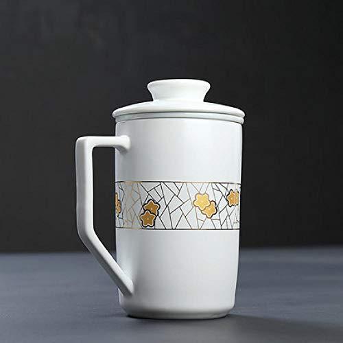 Couple tasse d'eau tasse de café tasse de lait...