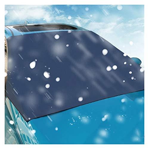Parasol Coche Delantero AUTOMÓVIL AUTOMÓMICO SUNJAÑA CUBIERTA DE CUCHO DE CUCHO for EL CARA DE NIEVE SOBRE SOBRE DE PROTECCIÓN A prueba de agua Cubierta de parabrisas Cubierta Parasol Delantero Coche