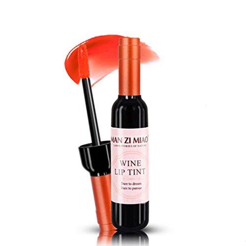 Huihong 6 Style Neue Weinflasche Lippenstift Wasserdicht Lipgloss Langlebig Lippenstift Kosmetik...