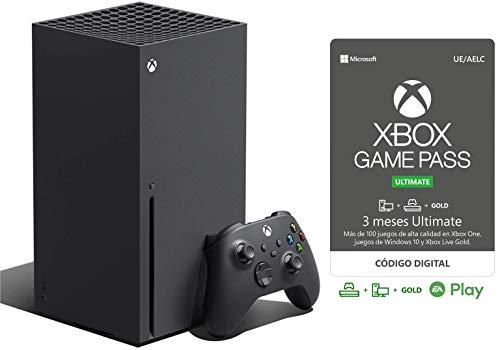 Xbox Series X + Game Pass Ultimate (3 Meses Suscripción)