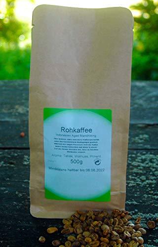 Naturix24 Rohkaffee aus Indonesien Aged Mandhleing 500g