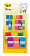 Assorted Colors, .94 inch Wide. and .47 inch Wide Find it fast Flags make it simple to mark and highlight important information Ideal for marking documents without writing on them 120 .94 inch/Dispenser, 200 .47 inch/Dispenser/Pack Use to draw attent...