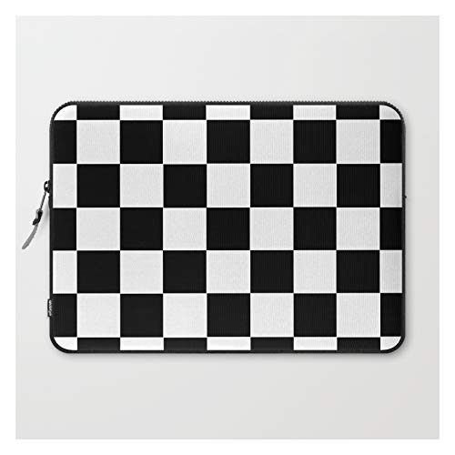 Checkerboard by Color Obsession on Laptop Sleeve - Laptop Sleeve - 13'