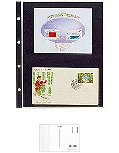 テージー コレクションアルバムスペア 切手ブロック他 CA-302S + 画材屋ドットコム ポストカードA