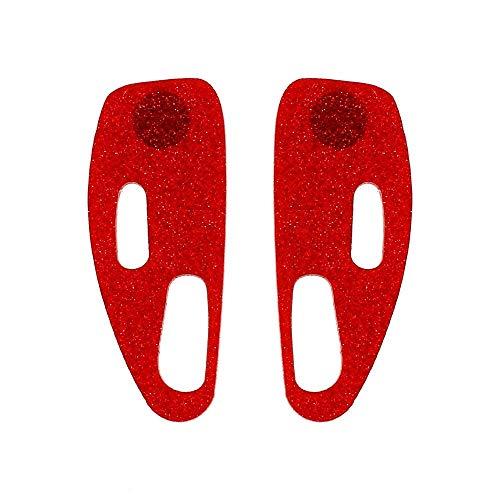 TIANYOU Novedad Joyas-Pendientes de mujer Pendientes Pendientes Pendientes de gota Ear Line, Pendientes de estilo de acrílico europeo y americano Exagerada hoja de ácido acético Pen