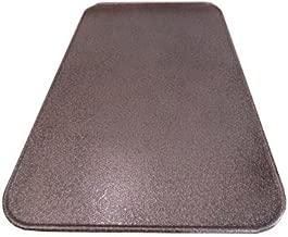 Blech vor einem Kamin 60x80cm Farbe Kupfer