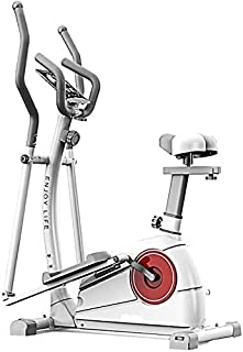 YUANSHOPPING Elliptical trainer 2in1 elliptical cross-trainer exercise bike home fitness exercise fitness weight loss (Col...
