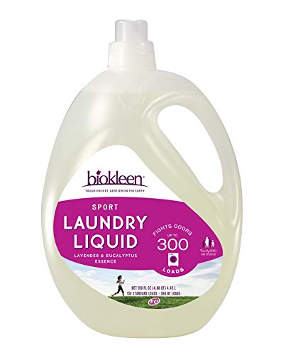 Biokleen Laundry Detergent Liquid, Concentrated, Eco-Friendly, Non-Toxic, Plant-Based, No Artificial Fragrance or Preservatives, 150 Fl Oz (Pack of 1)