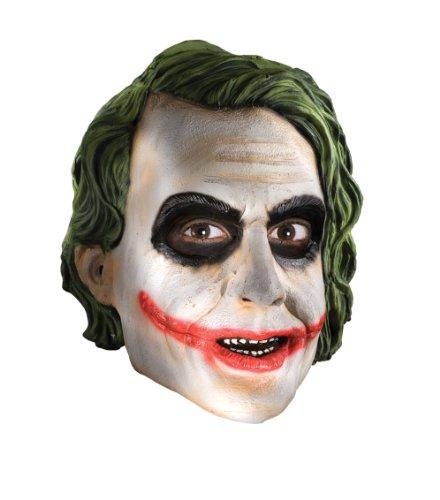 Rubie's-déguisement officiel - Rubie's- Masque licence 3/4 joker pvc-adulte- MA4499