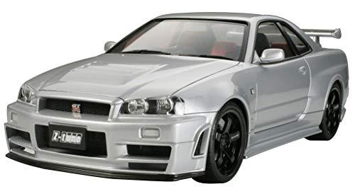 TAMIYA 24282 1:24 NISMO Skyline GT-R Z-Tune (R34), Modellbausatz,Plastikbausatz, Bausatz zum Zusammenbauen, detaillierte Nachbildung