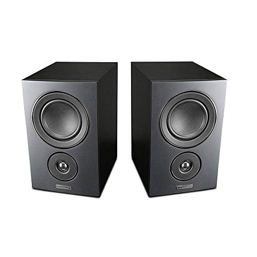Mission LX Series Bookshelf - Par de altavoces Hi-Fi HD estéreo Surround...