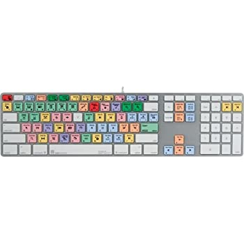 LogicKeyboard Compatible with Pro Line Apple Final Cut Pro Apple MAC Ultra FCPX-M89-US