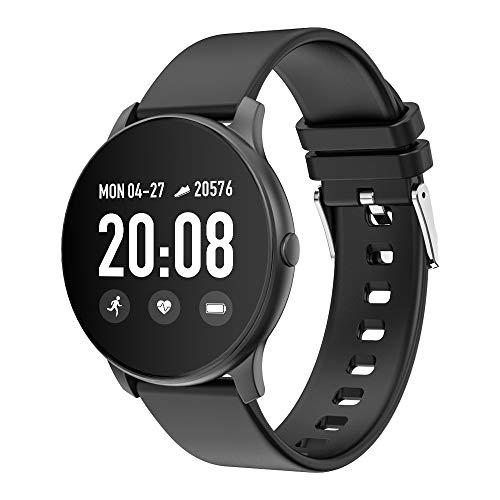 Qalabka KospetSmart Watch 1,3 pulgadas, 240 x 240, pantalla TFT, pulsera inteligente BT4.0, fitness, frecuencia cardíaca, presión arterial, oxígeno, monitor de sueño, varios modos de deporte, vida