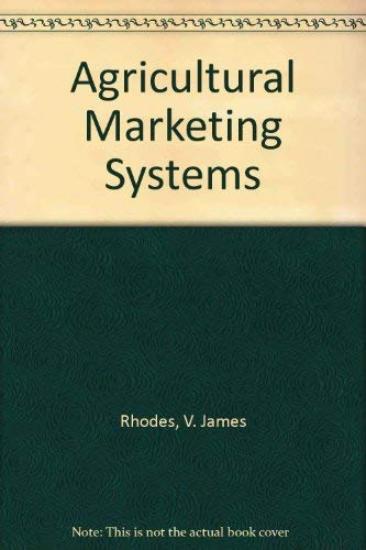 Agricultural Marketing Systems