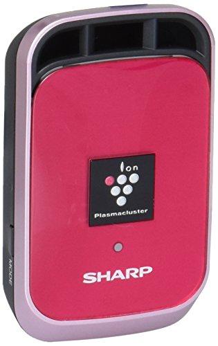 シャープ イオン発生機 プラズマクラスター25000搭載 カーエアコン吹出口タイプ ピンク IG-HC1-P