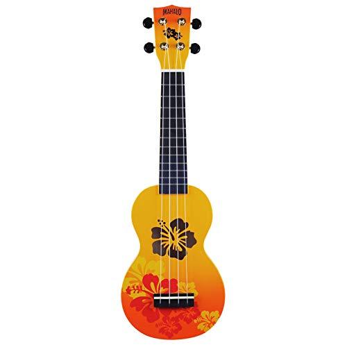 Mahalo ukulele Mahalo designer Series ukulele (MD1HB Orb) Ukulele soprano Orange Burst
