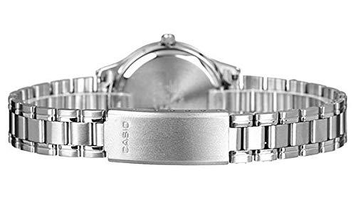 Casio Orologio Analogico Quarzo Donna con Cinturino in Acciaio Inox LTP-1177PA-2AEF