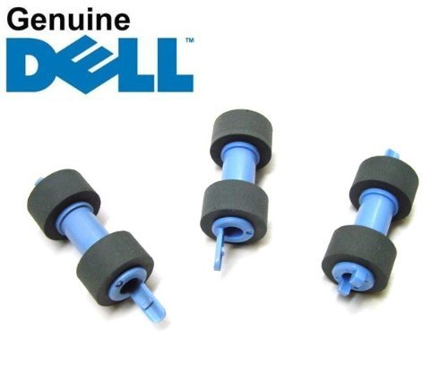 Genuine Original Dell 3115cn 3110cn 3130cn 5130cdn C2660dn C2665dnf C3760n C3760dn C3765dn C3765dnf Feed Pick and Separator Rollers , Set of 3 , Dell P/N : RG399