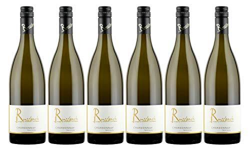 Russbach Eppelsheimer Chardonnay trocken, Weingut Russbach, Eppelsheim, Rheinhessen, Jahrgang 2019 (6 x 0,75 l)