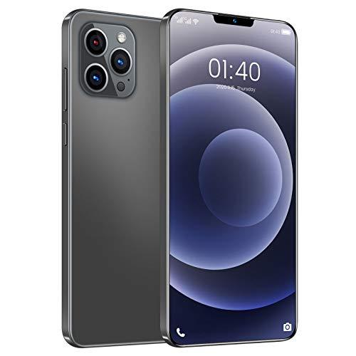 Homfure Smartphone Dual SIM con Doble Modo de Espera - Pantalla de Muesca de 6,7 Pulgadas Resolución 1284 * 2778 Phone12 Pro MAX Características Una combinación de cámara de 32MP