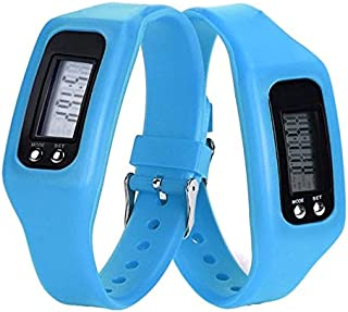 Digital LCD Pedometer Run Step Walking Distance Calorie Counter Sport Watch Bracelet DX88 (Kleur : Oranje)