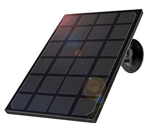 Solarpanel für Überwachungskamera IP Kameras,Sonnenkollektor für 1080p Camera Z6 wasserdicht mit einstellbare Halterung