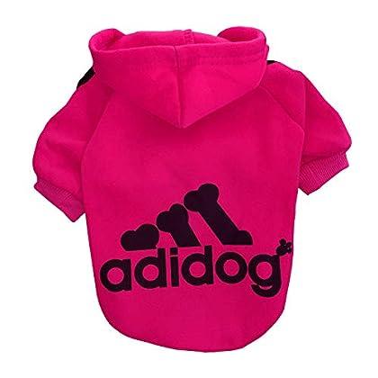 ❤❤❤ Größen: XL -- Rückenlänge: 35 cm ( 13.8 Zoll ), Brustumfang: 47 cm ( 18.5 Zoll ), Halsumfang: 32 cm ( 12.6 Zoll ) Tipps: Dieser Hoodie ist nur für kleine und mittlere Hunde geeignet, nicht für große Hunde. Bitte wählen Sie diesen Artikel nicht en...