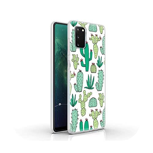 Funda de silicona de lujo para Samsung Galaxy S20 FE S10 S9 Plus S21 Ultra S8 suave mate cubierta cubierta cubierta lindo caramelo color parejas-S11-para Samsung S9 Plus