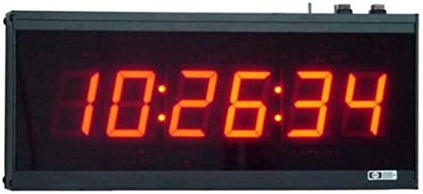 AE26/CC Stand-Alone, 6-Digit, Multi-Function Clock/Timer with 2.3-inch High Digits