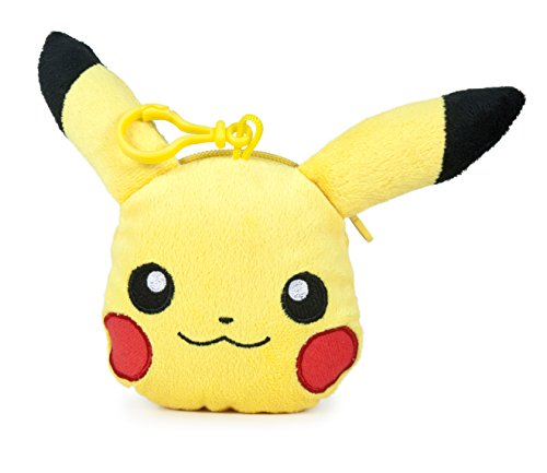Famosa 760015202 Pokemon Pikachu Plüsch Geldbörse