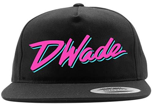Shedd Shirts Black Snapback Miami Wade D Wade Vice City Hat