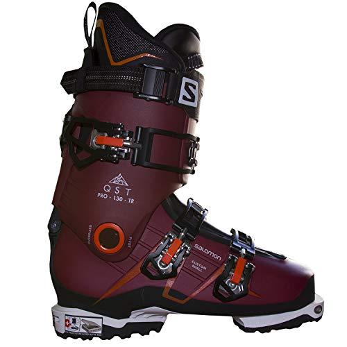 SALOMON Botas Alpinas QST Pro 130 TR, esquí Hombre, Pomegranat, 45.5/46.5 EU