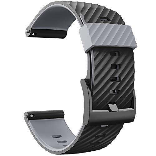 Sweo Suunto - Correa para reloj inteligente de silicona suave para Suunto 7/9/Baro/D5