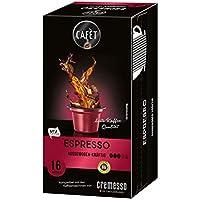 Cafet para Cremesso, Espresso 16 cápsulas