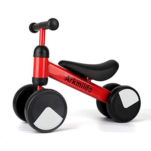 Arkmiido Bicicleta de Equilibrio para niños de 1 a 2 años, Marco...