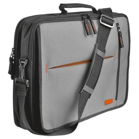 "Trust Agiloo 15-16"" Notebook Carry Bag - Grey/Orange"