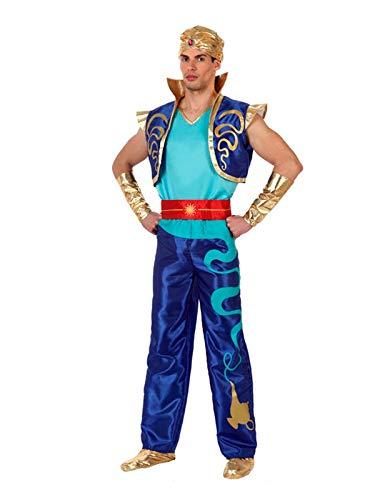 DISBACANAL Disfraz Genio de la Lámpara: Amazon.es: Juguetes y juegos