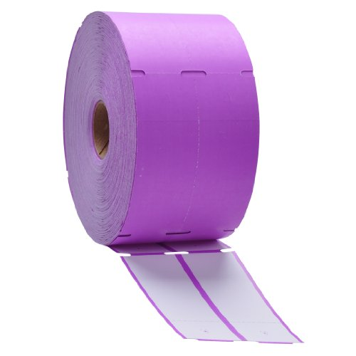 Direct Thermal Consignment Style Tags (Purple)