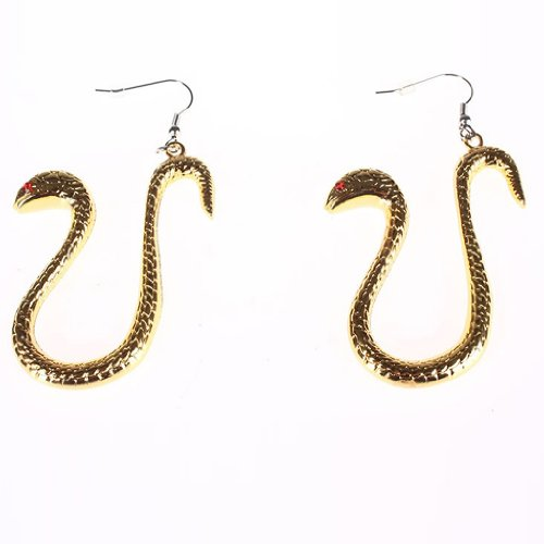 FarEastDayDream Dream2Reality One Piece Cosplay Props Boa Hancock Boa Hancock golden Snake Ear Pendant